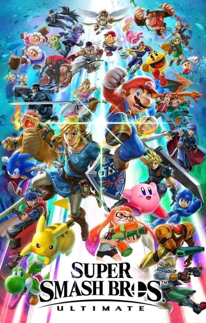 Pin De Narku En Super Smash Bros Arte De Videojuegos