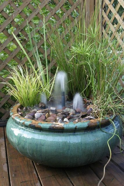 Lovely ** Create Your Own Container Water Garden - Town & Country Living