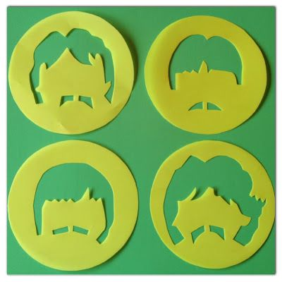 DIY: Stencils para Cupcakes The Beatles