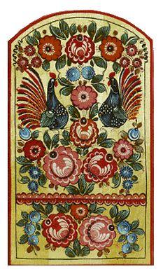 Gorodezk's painting and woodcarving / Artistic handicrafts of Nizhny Novgorod region