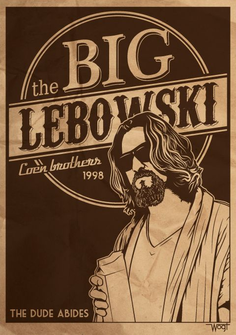 The Big Lebowski by wamukota.deviantart.com