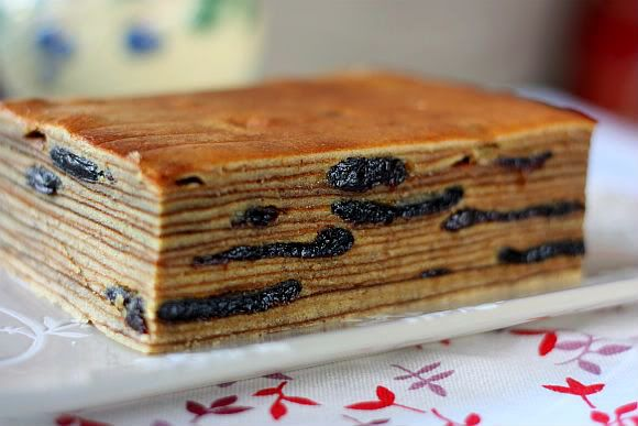 Prune Kueh Lapis Spekkoek (Indonesian Prune Layer Cake)