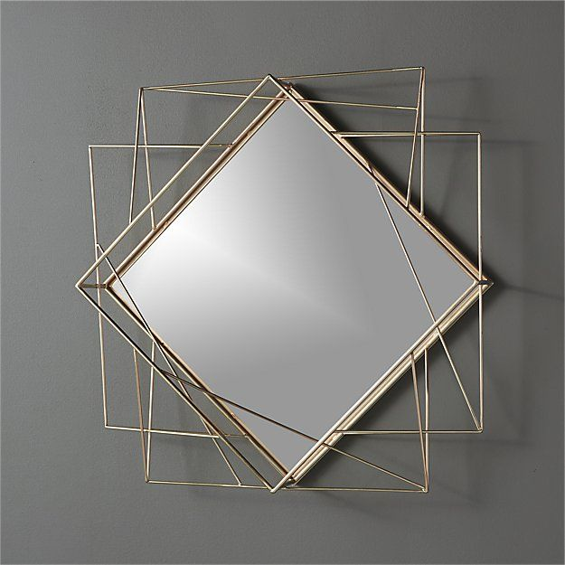 Cool Mirror For Hallway Or Near The Door Piazza Wire 225x22
