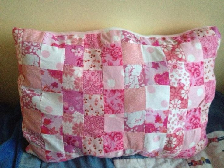 My first ever attempt at patchwork. November 2012