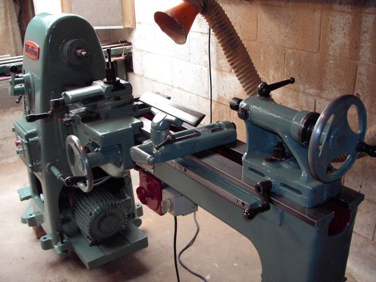 woodturning lathe vintage
