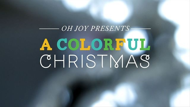 A Colorful Christmas —Oh Joy + The Land of Nod by The Land of Nod. -   http://www.thechristmaspresentideas.com/ #christmas #homedecor #colorful