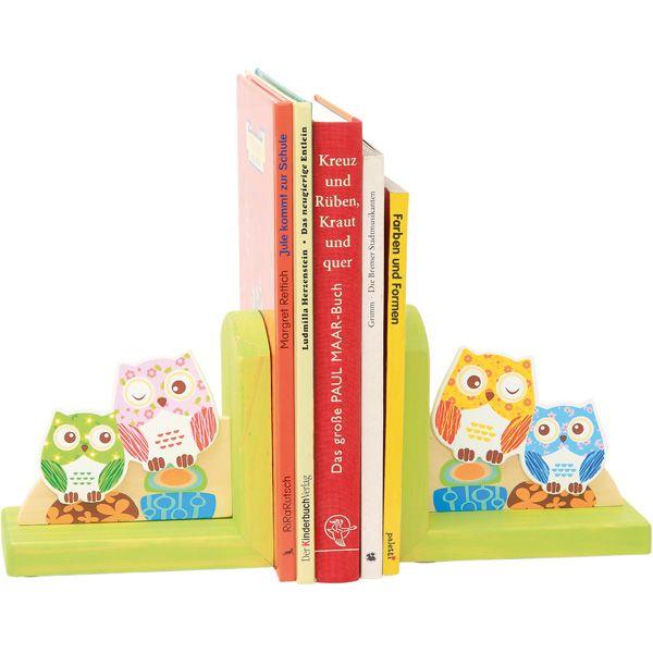 Drewniane podpórki do książek #sowy #owls #creative #wooden #books #kids  http://www.mojebambino.pl/biblioteczki/7364-drewniane-podporki-do-ksiazek-ptaki-lub-sowy.html