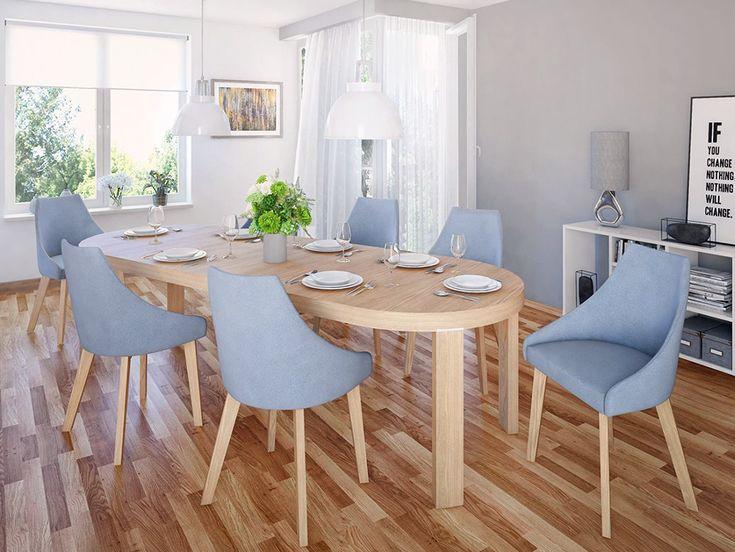 Stół rozkładany Orbi, producenta Paged może zostać przemieniony z malutkiego okrągłego stołu, w 290 cm stół wielorodzinny! O tym jakie stoły mogą przemienić Twoją jadalnię w idealne miejsce współnych posiłków piszemy w artykule: http://www.twojemeble.pl/porady/jadalnia/modna-i-praktyczna-jadalnia