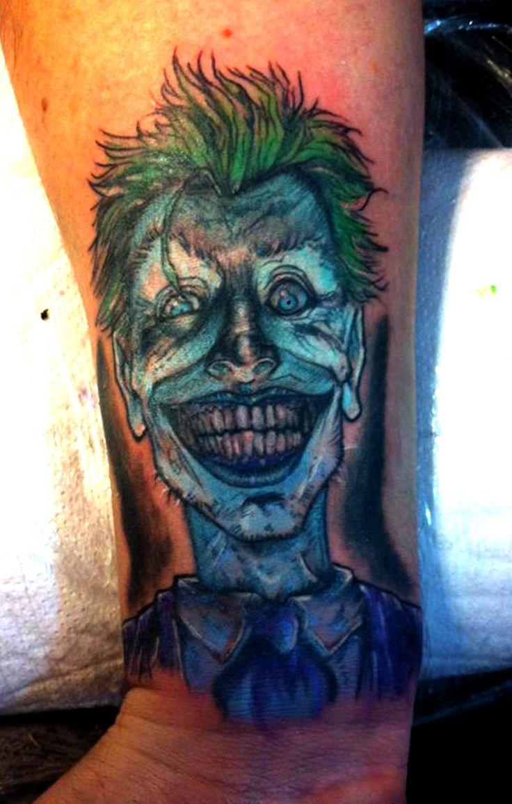 Joker comic style