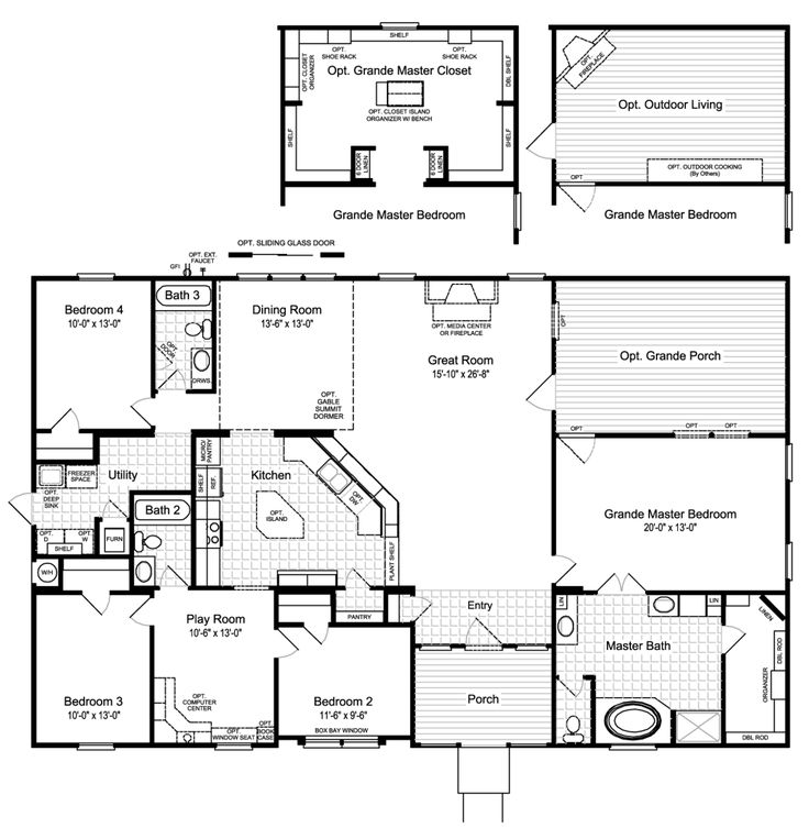 Superior One Of My New Favorites As Palm Harbor Homes Is The Hacienda II VRWD66A3 Floor  Plan