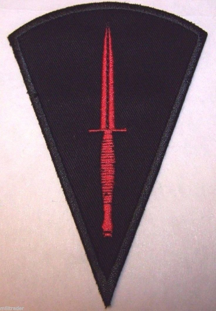 Uk British Wwii Dagger Quot All Arms Commando Course Quot Patch