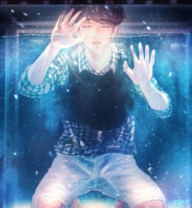 FanArt - GOT7: JinYoung por @pepi_jy_ e pikabam_
