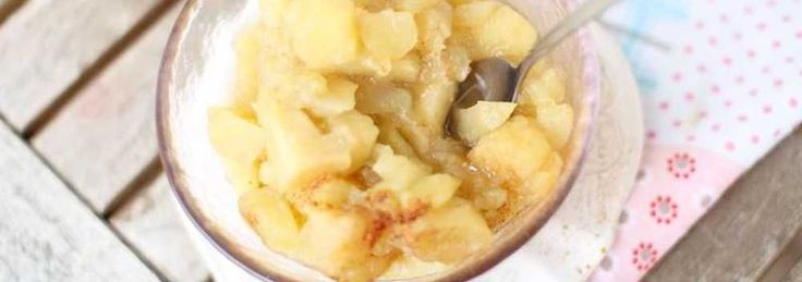 Duszone jabłka do szarlotki