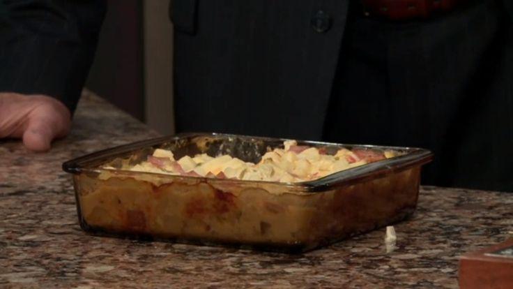 Ham & Cheese Potato Casserole Recipe Thursday, April 20, 2017 CW20