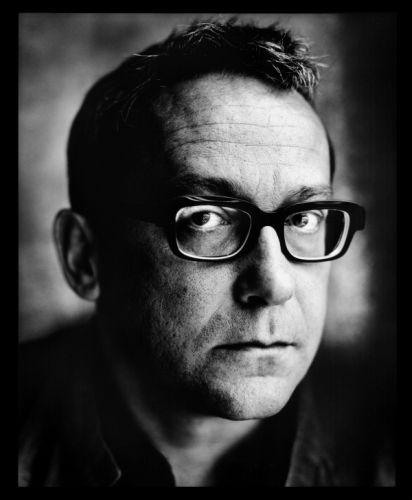 Tom Lanoye, door Stephan Vanfleteren: een schrijverskop pur sang