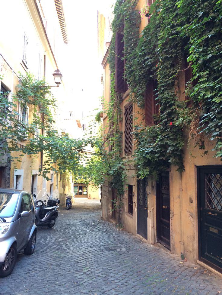 The street where I live #RomeStreetGreen