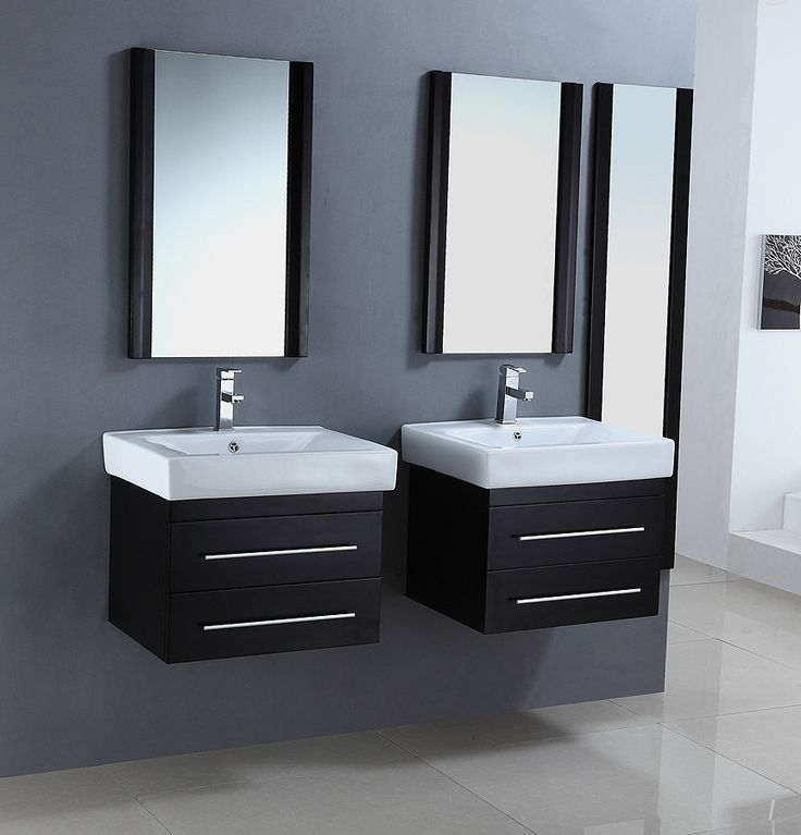 Images Photos Set of Two Modern Bathroom Vanities WA by Legion Furniture