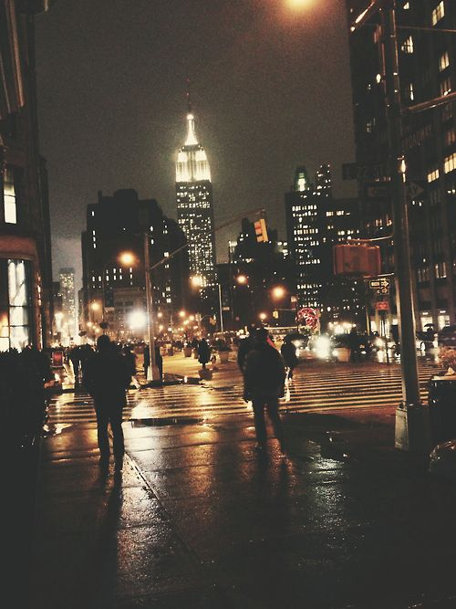 city street at night tumblr - photo #3