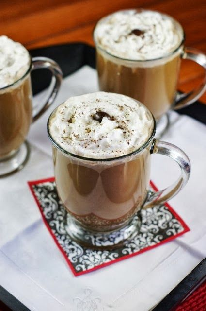 Mocha Eggnog ~ easy to prepare, and can be made for just one or a crowd!   www.thekitchenismyplayground.com
