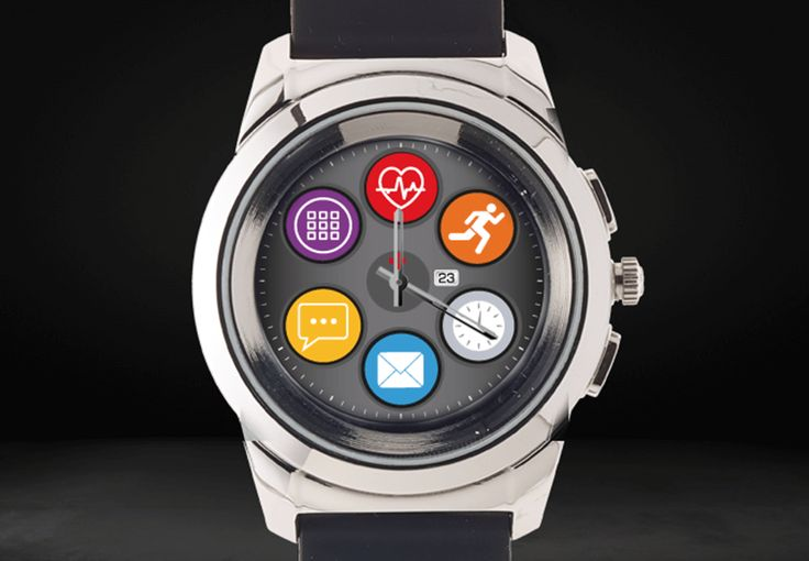This innovative new hybrid smartwatch from MyKronoz embeds mechanical watch hands over a full-color touchscreen.