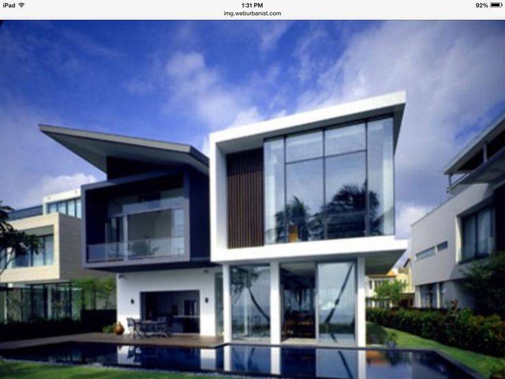 9 best Modern houses images on Pinterest | Modern homes, Modern ...