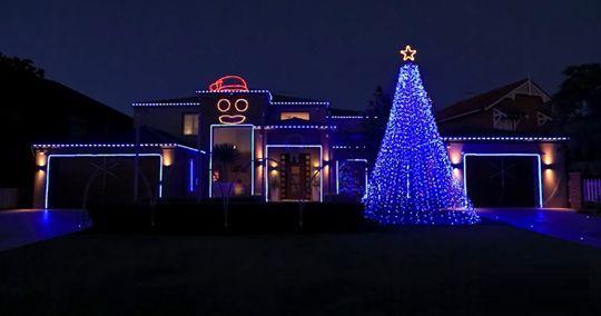 "Le luci di Natale in ""Gangnam Style"""