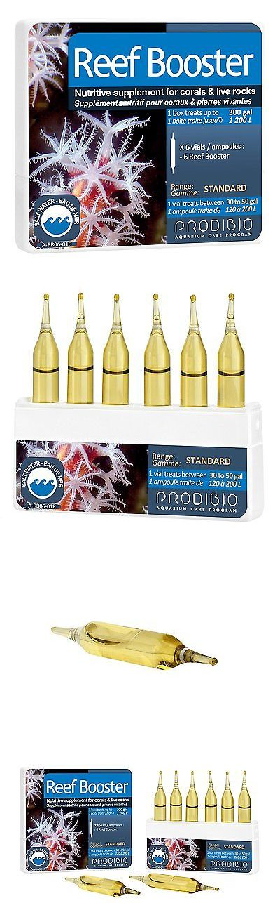 Other Fish and Aquarium Supplies 8444: Prodibio Reef Booster, Nutritive Supplement, Saltwater, 6 1 Ml Vials, 30 Gal And -> BUY IT NOW ONLY: $31.27 on eBay!