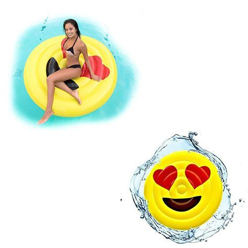 Pool Float Inflatable Raft w/ Pump  Swimming Summer Fun Toys For Kids Adults NEW #Kbrand