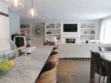 My Houzz: The Richards Re-build contemporary living room
