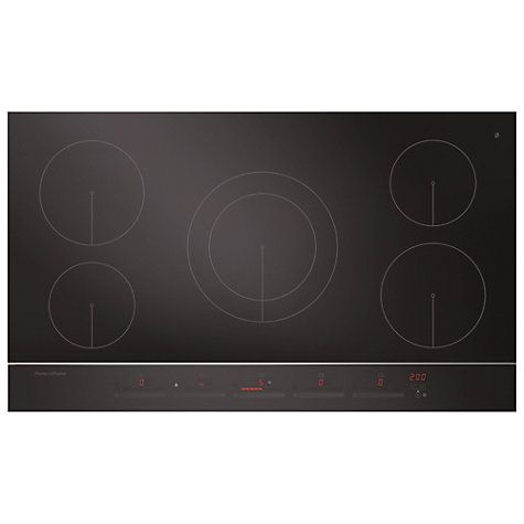 Buy Fisher & Paykel CI905DTB2 Induction Hob, Black Online at johnlewis.com