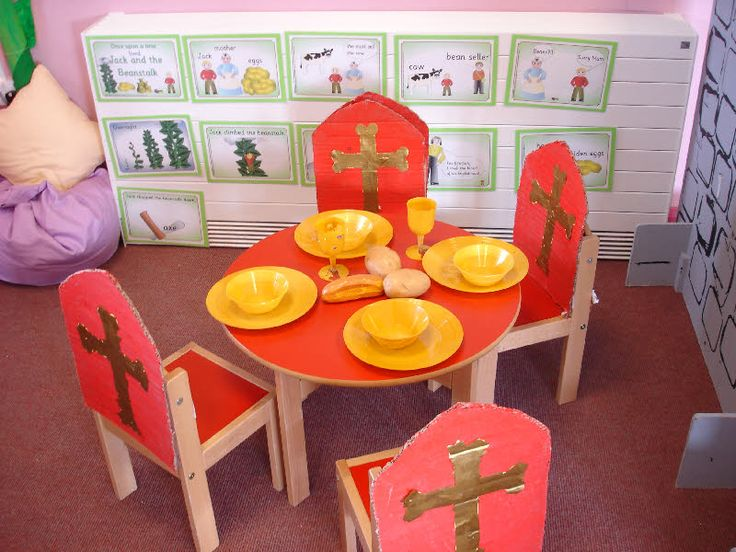 Castle role-play area classroom display photo - Photo gallery - SparkleBox