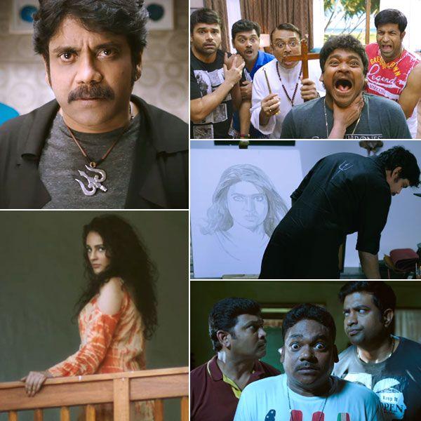 Raju Gari Gadhi 2 trailer: Nagarjuna plays the perfect mentalist out to exorcise a ghostly Samantha Ruth Prabhu #FansnStars