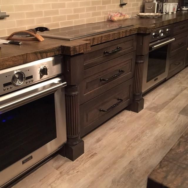 what do you get when you combine two thermador wall ovens and an induction cooktop