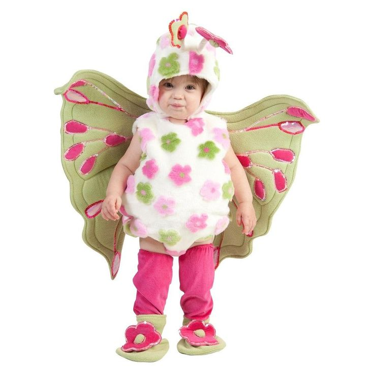 Girls' Toddler Butterfly Costume 6-12M, Toddler Girl's, Size: 6-12 Months, Pink