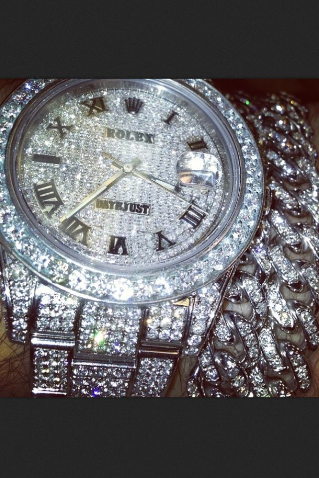 dope rolex diamond crazy selfie pinterest rolex and