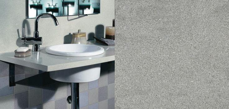 Silestone Aluminio Nube wird oft für Waschtische eingesetzt. Dank der Aluminio Nube Waschtische strahlt Ihr Heim pure Eleganz aus.  http://www.silestone-deutschland.com/silestone-waschtische-Aluminio_Nube