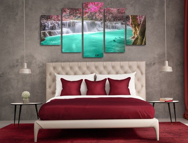 Forest Waterfall Canvas Print – TC Discount Store