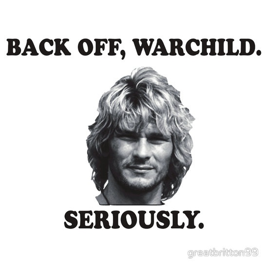WARCHILD  Patrick swayze  Point break