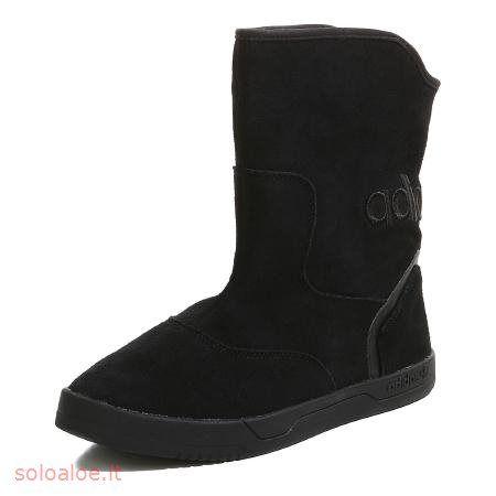 adidas Originals   stivali EXTABOOT donne di inverno   finta pelle scamosciata nera