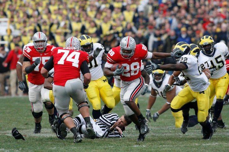 2006 Beanie Wells vs Michigan
