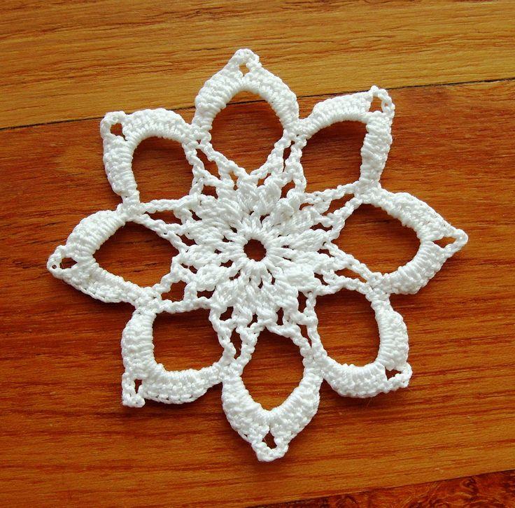 Crochet Snowflakes, Crochet Christmas ornaments