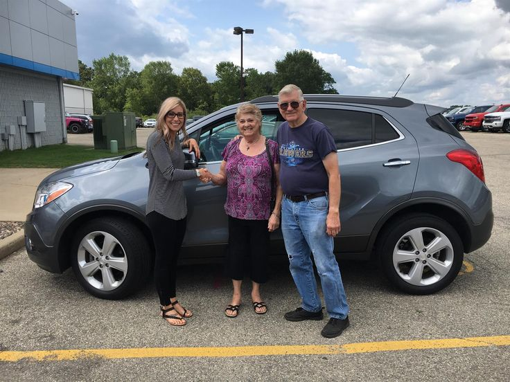 DOROTHY and RICHARD's new 2015 BUICK ENCORE! Congratulations and best wishes from Kunes Country Chevrolet Buick GMC and Megan Tislau.