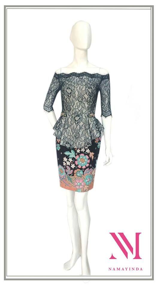 Andrea Dress. For Pricing and Sizing please Line us at Namayinda or WA us at 08111047891.