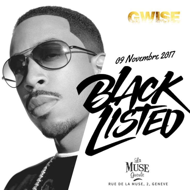 Black Listed November Edition by Gwise @ la muse gueule de Genève
