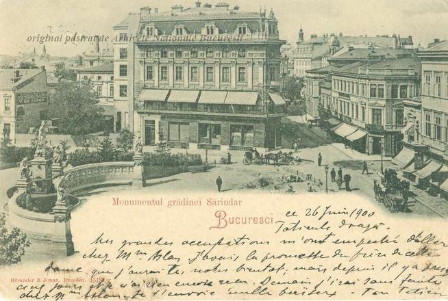 Bucharest, 1900