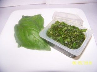 Freezing Basil Recipe