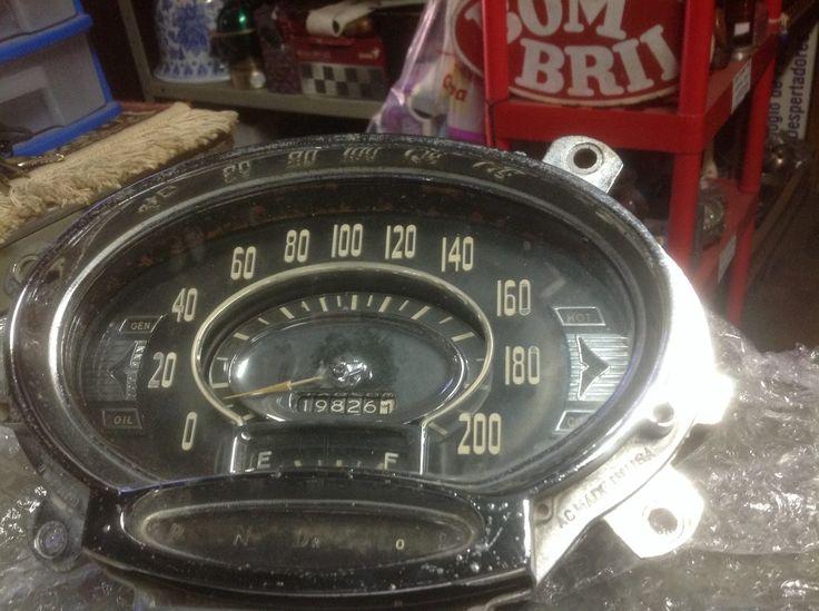 Antiguidade! Rara -velocímetro Oldsmobile Ano 1956 - R$ 450,00 no MercadoLivre