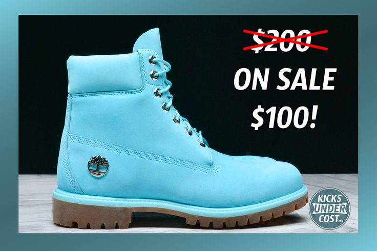 "The ""Tidepool"" Timberland 6 Inch is on sale 50% off + free shipping!"
