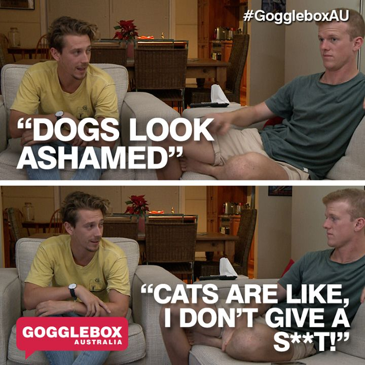 Gogglebox Australia - Symon and Adam