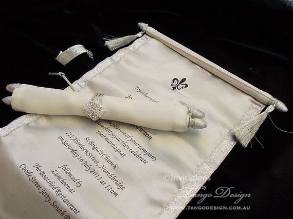 Diy Scroll Wedding Invitations: Best 25+ Scroll Invitation Ideas On Pinterest